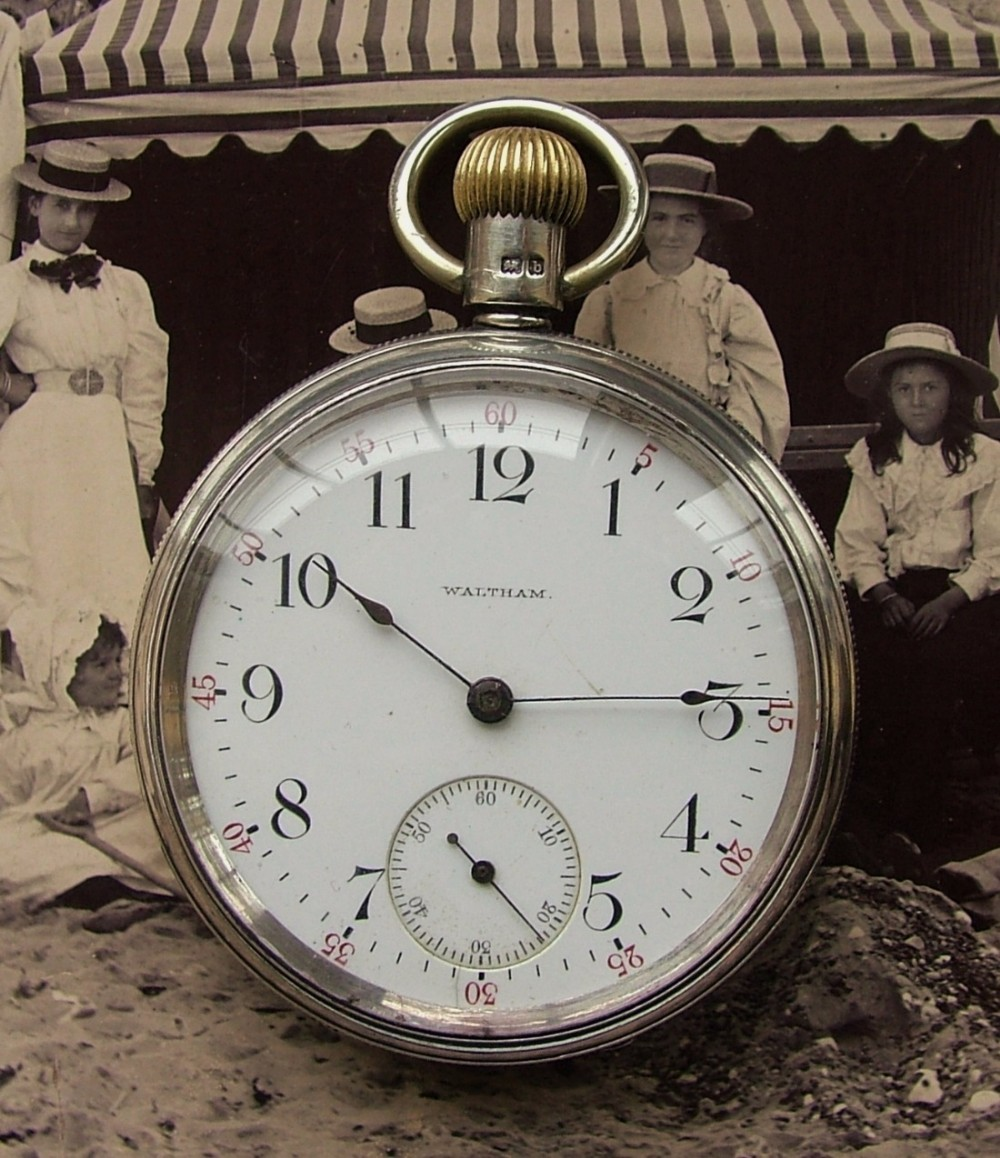 antique 1901 waltham riverside pocket 467677