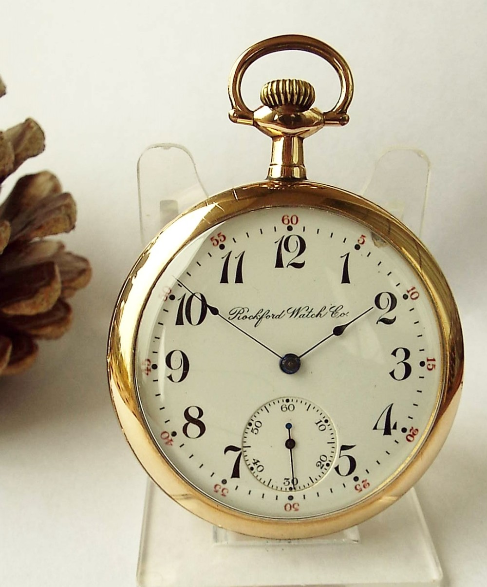 ac82e21b22e8c An Antique Rockford Pocket Watch. | 502997 | Sellingantiques.co.uk
