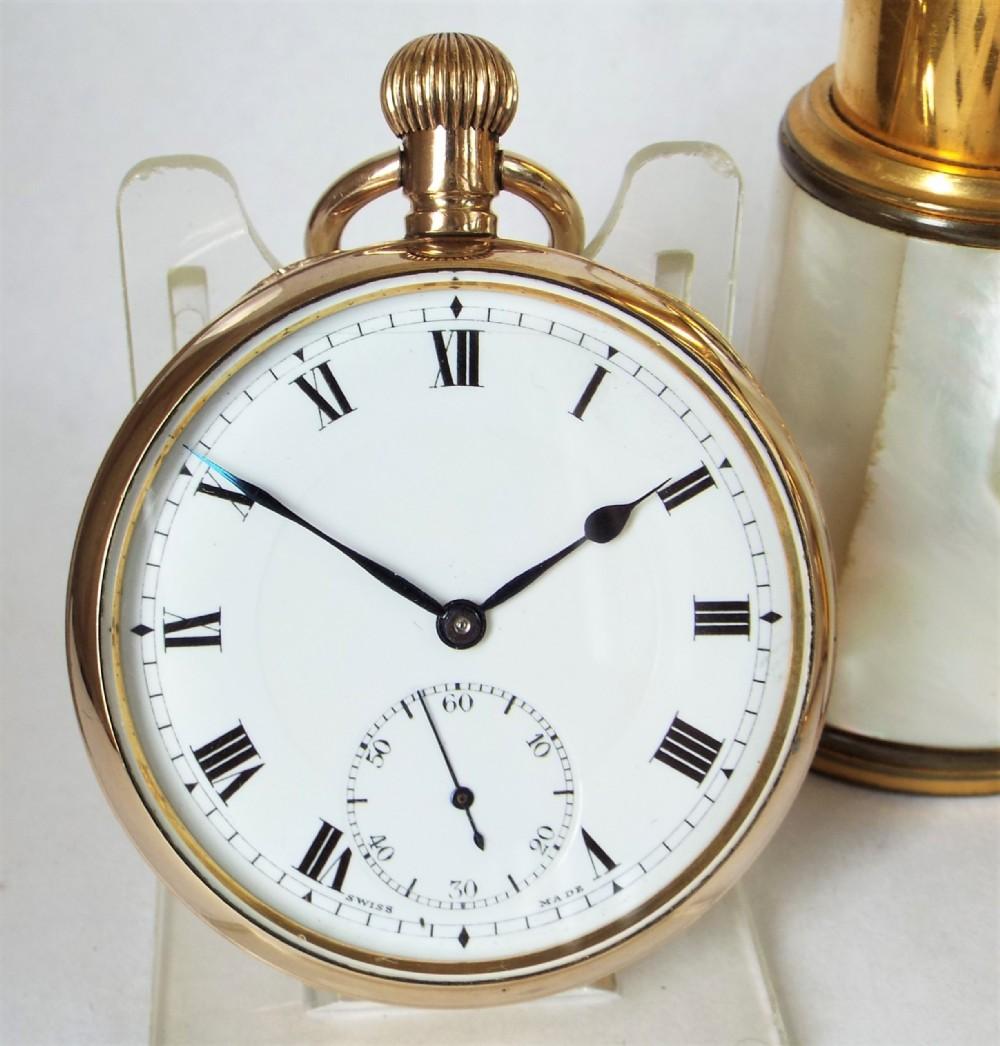 antique 1920s doxa pocket watch