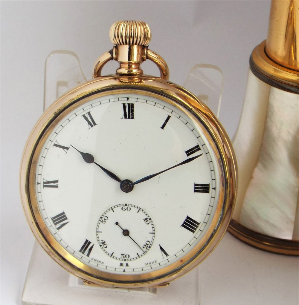 antique henry sandoz admiral pocket watch