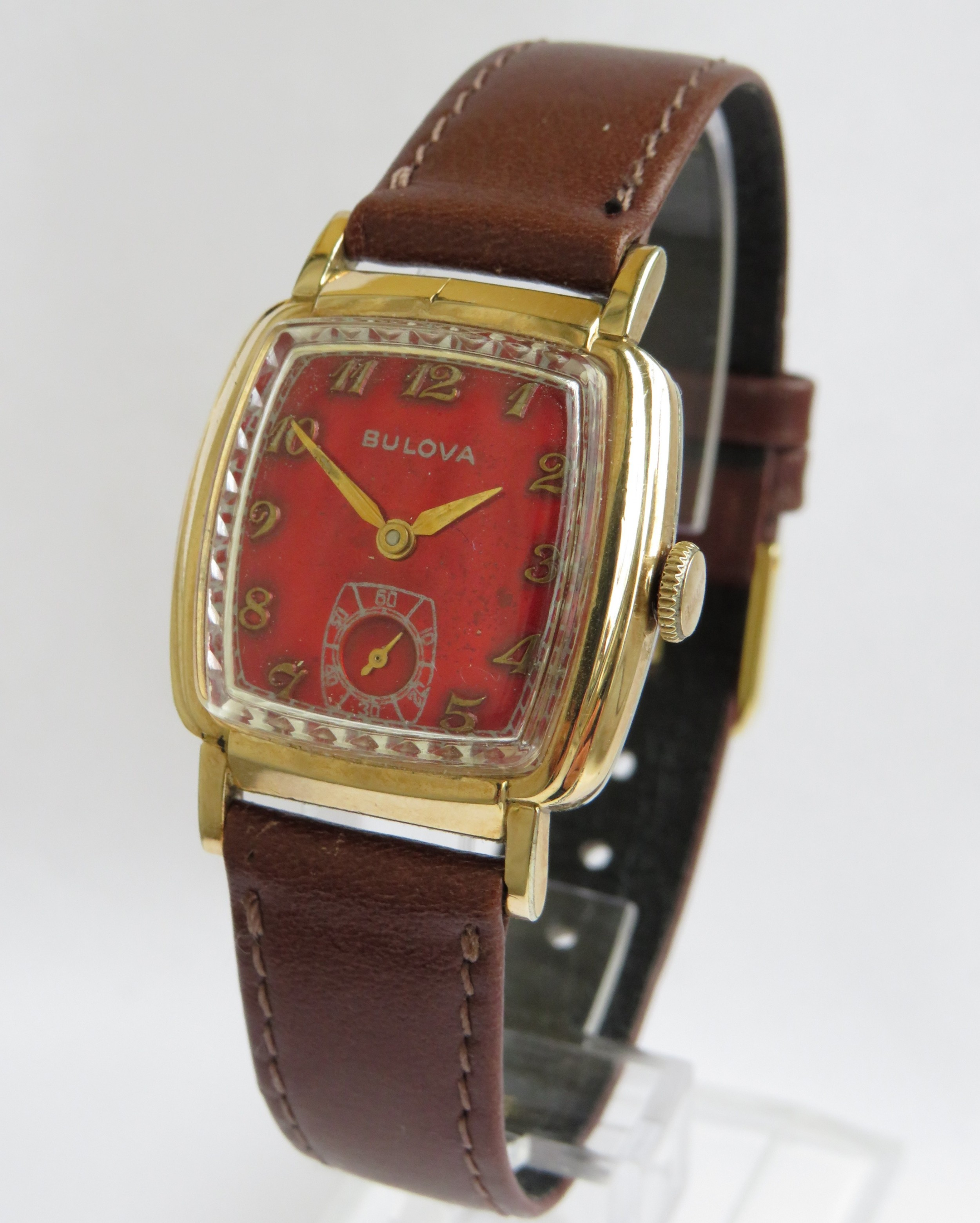 gents 1955 bulova wrist watch