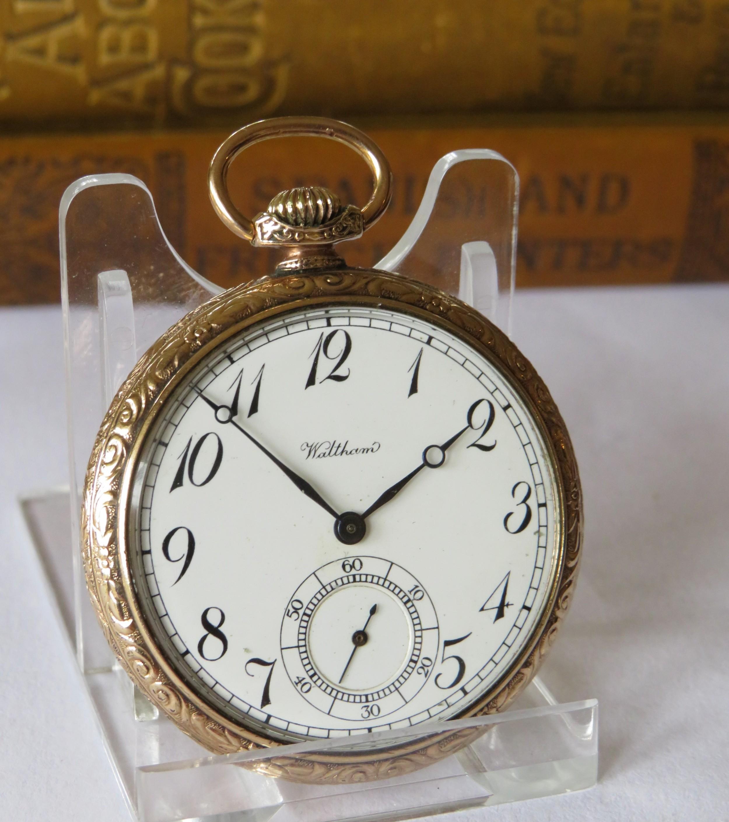 A 1920s Waltham Pocket Watch.   613645   Sellingantiques.co.uk