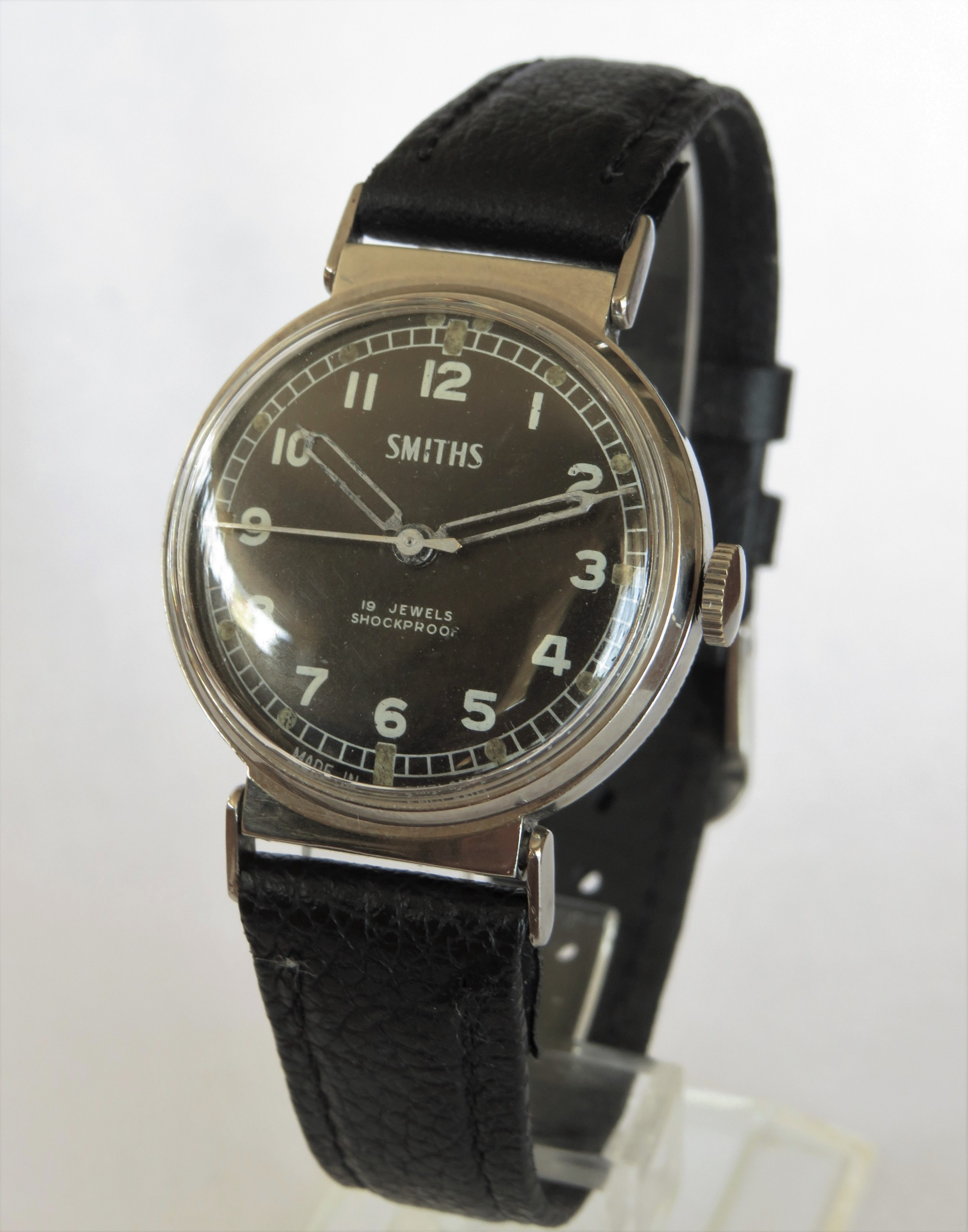 gents smiths wrist watch circa 1960