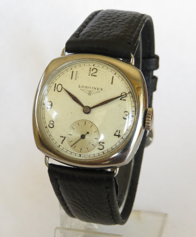 gents longines wrist watch 1936
