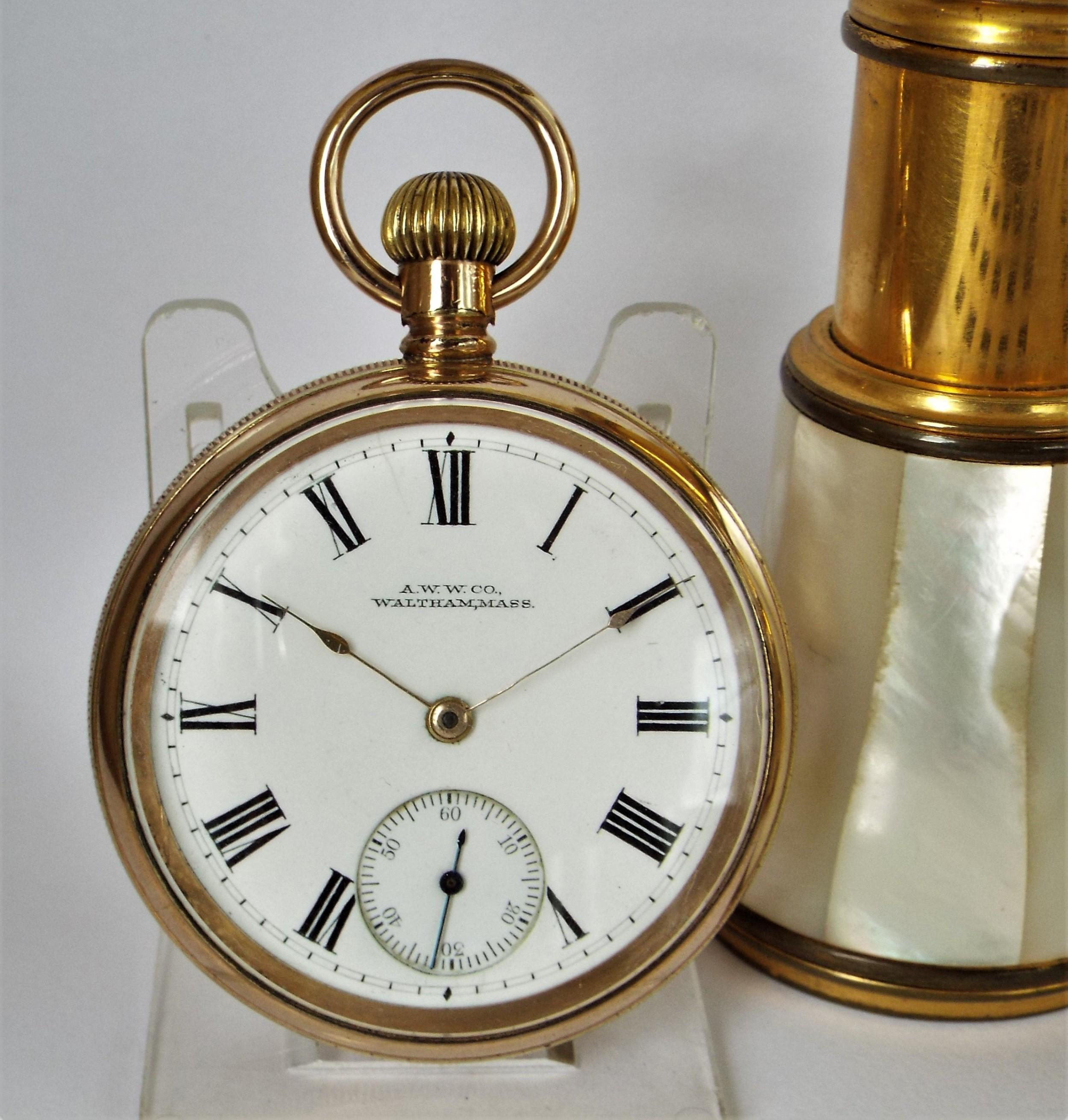 Antique 1901 Waltham Traveler Pocket Watch | 659741 | Sellingantiques.co.uk