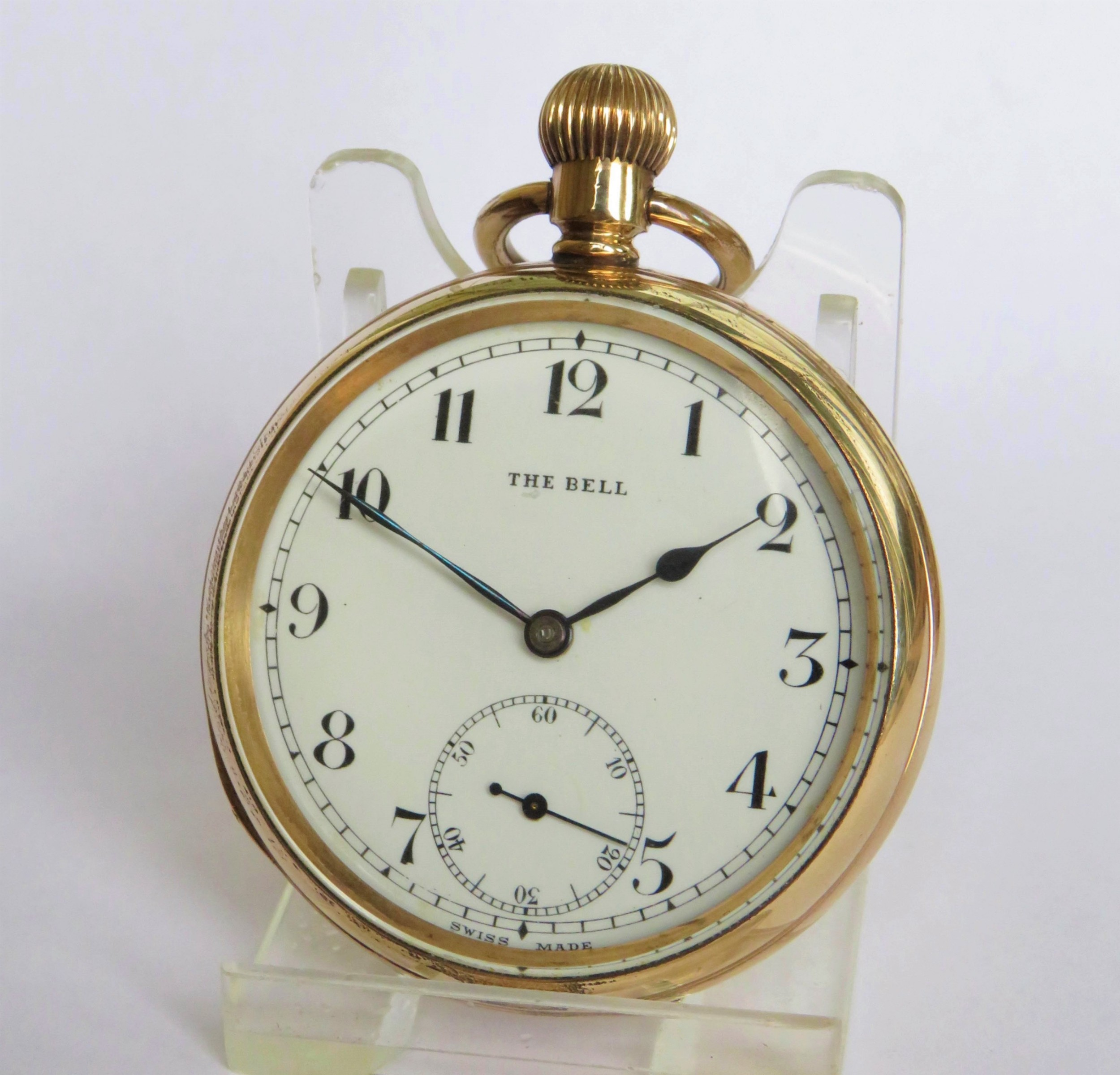 1940s 'the bell' pocket watch by quartier fils