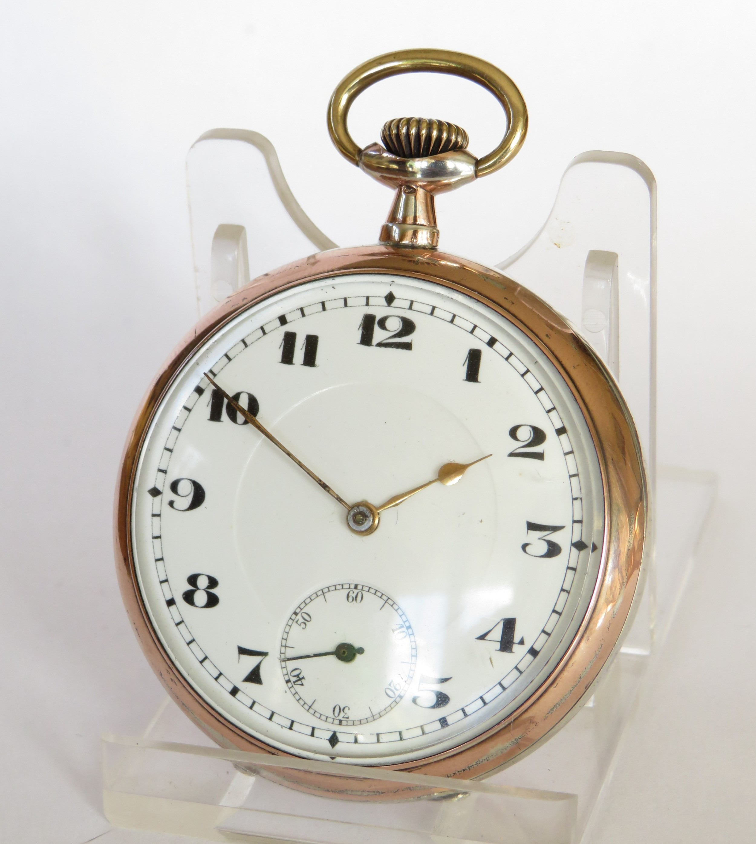 1920s silver pocket watch