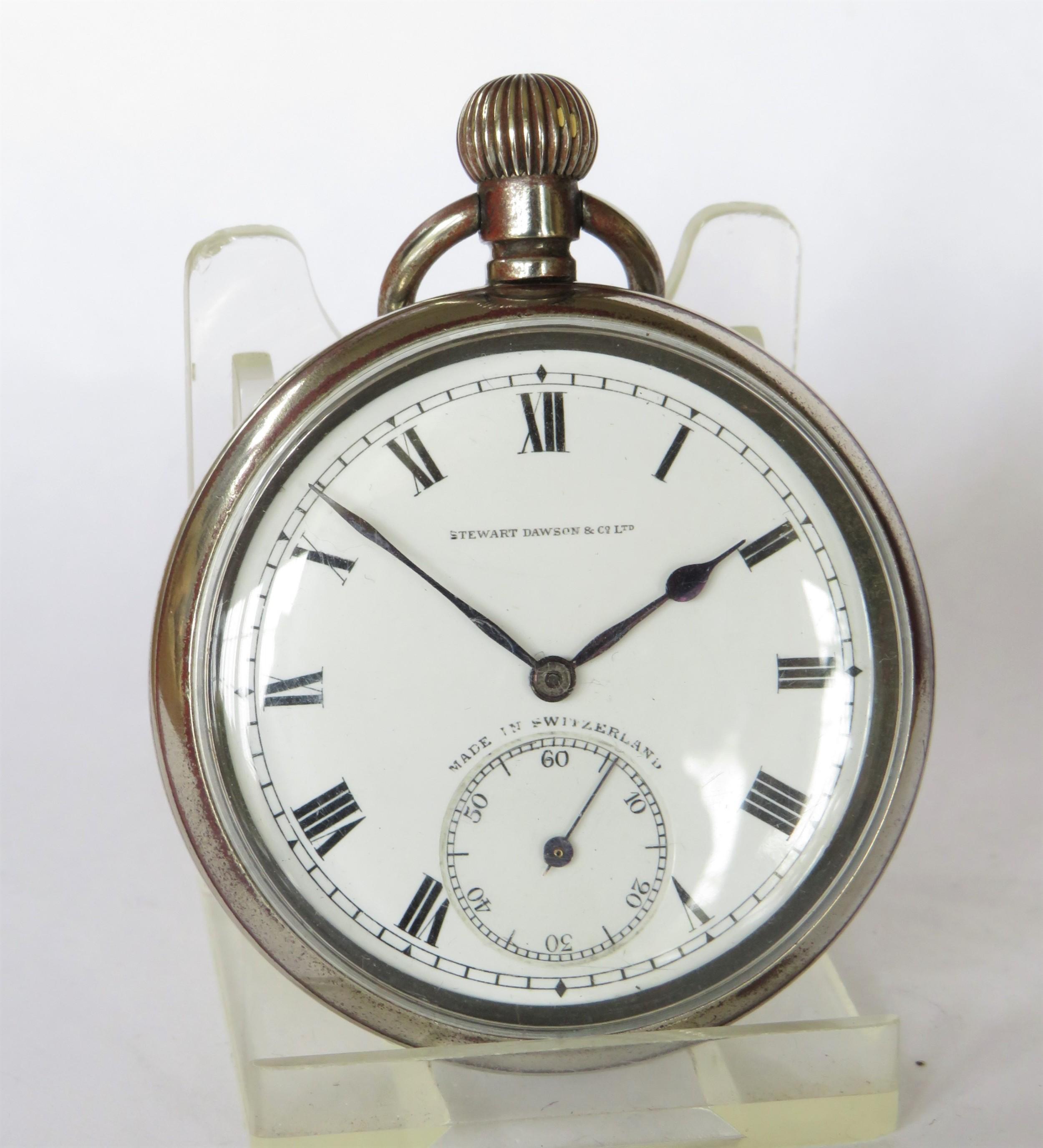 antique 1920s moeris pocket watch