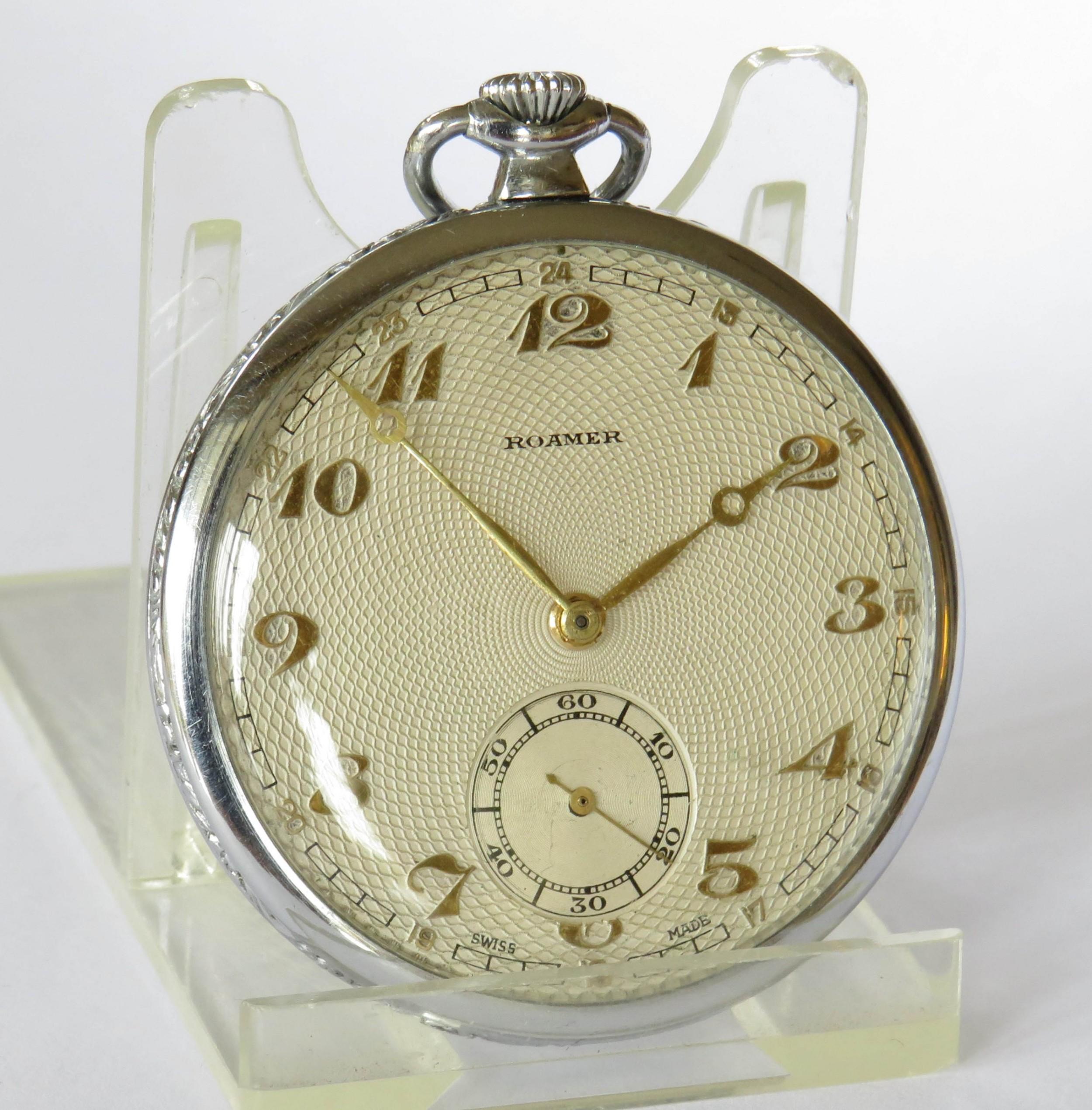 1930s roamer pocket watch