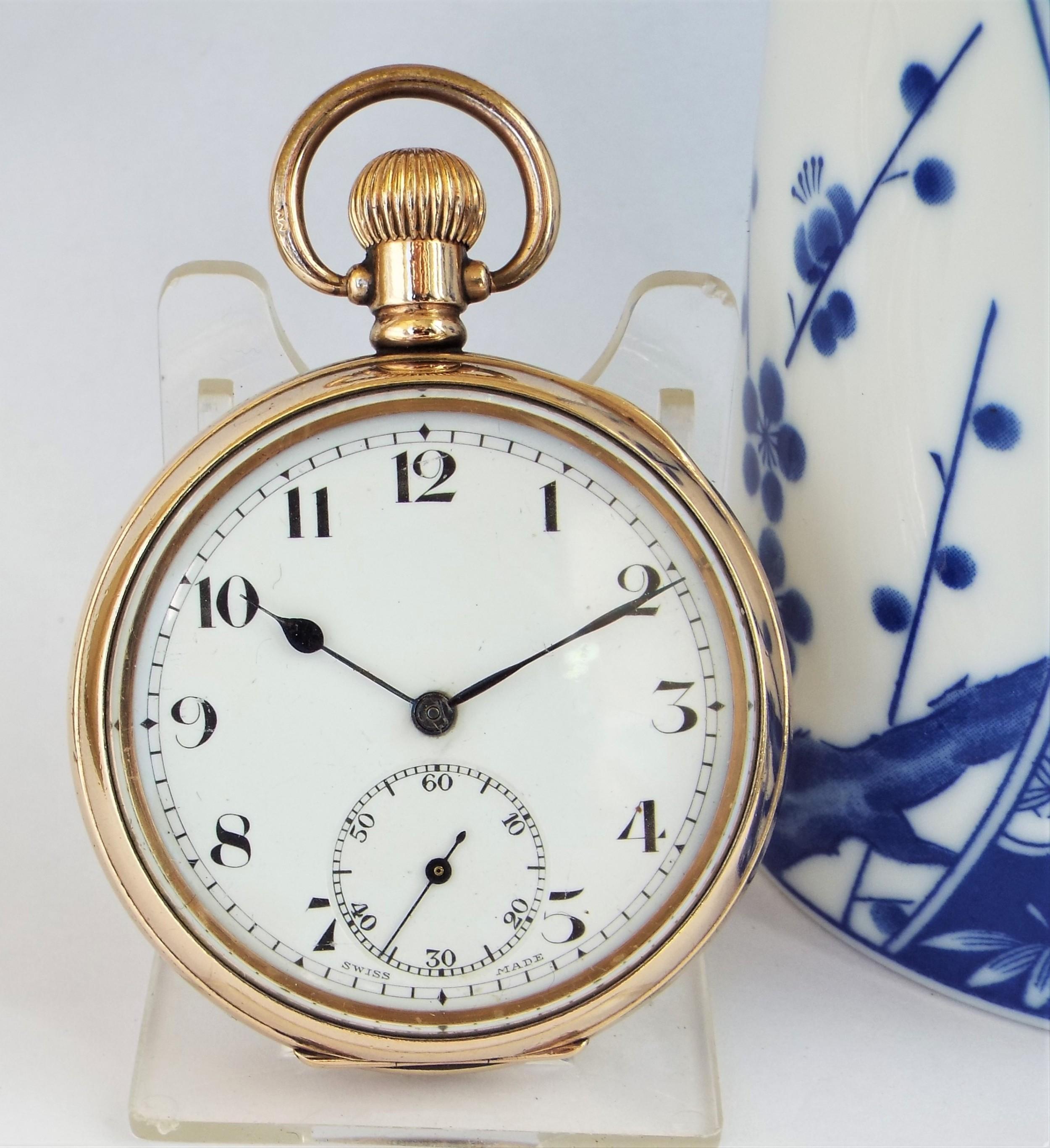 1930s cyma pocket watch