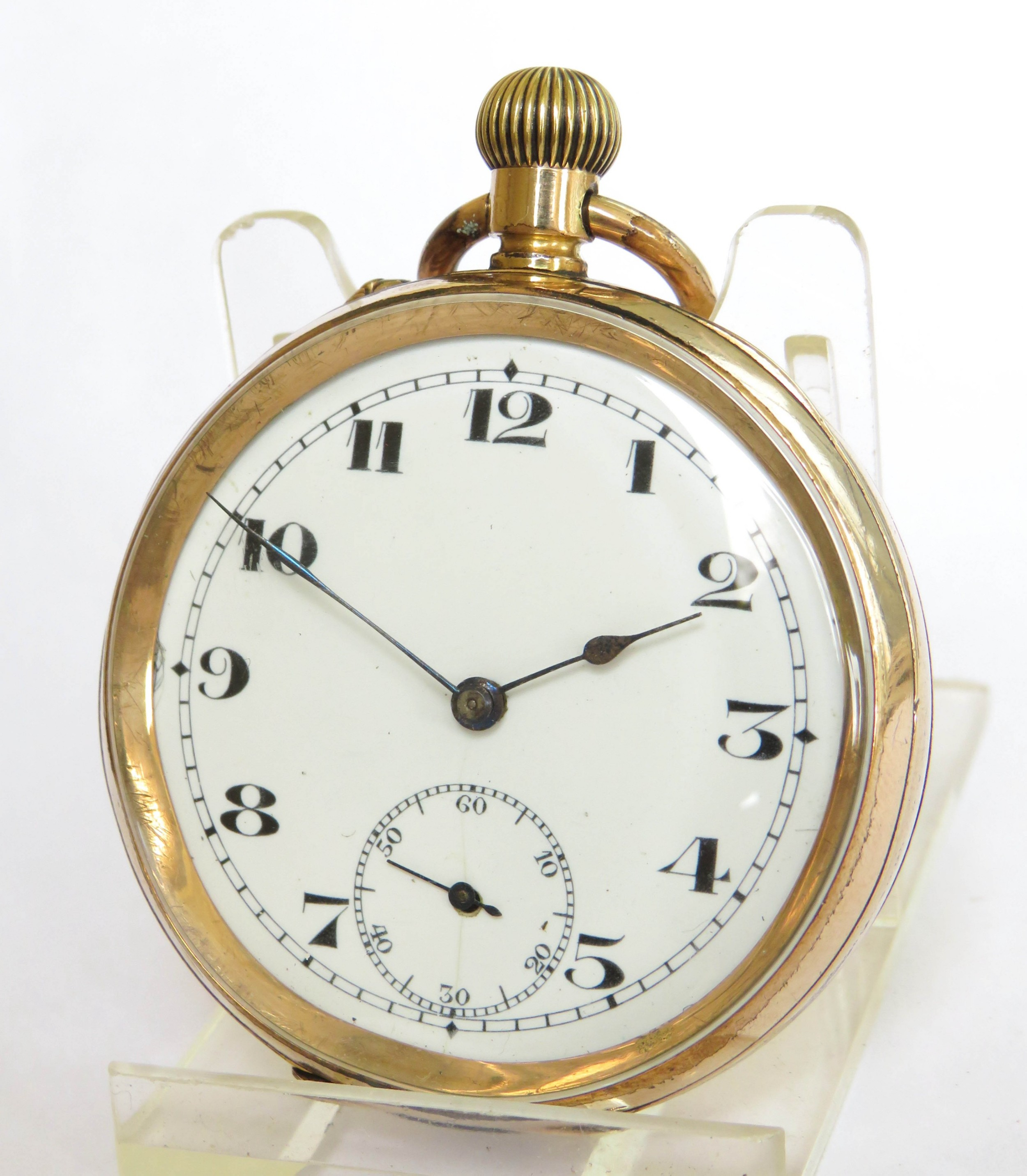 antique eterna private label pocket watch