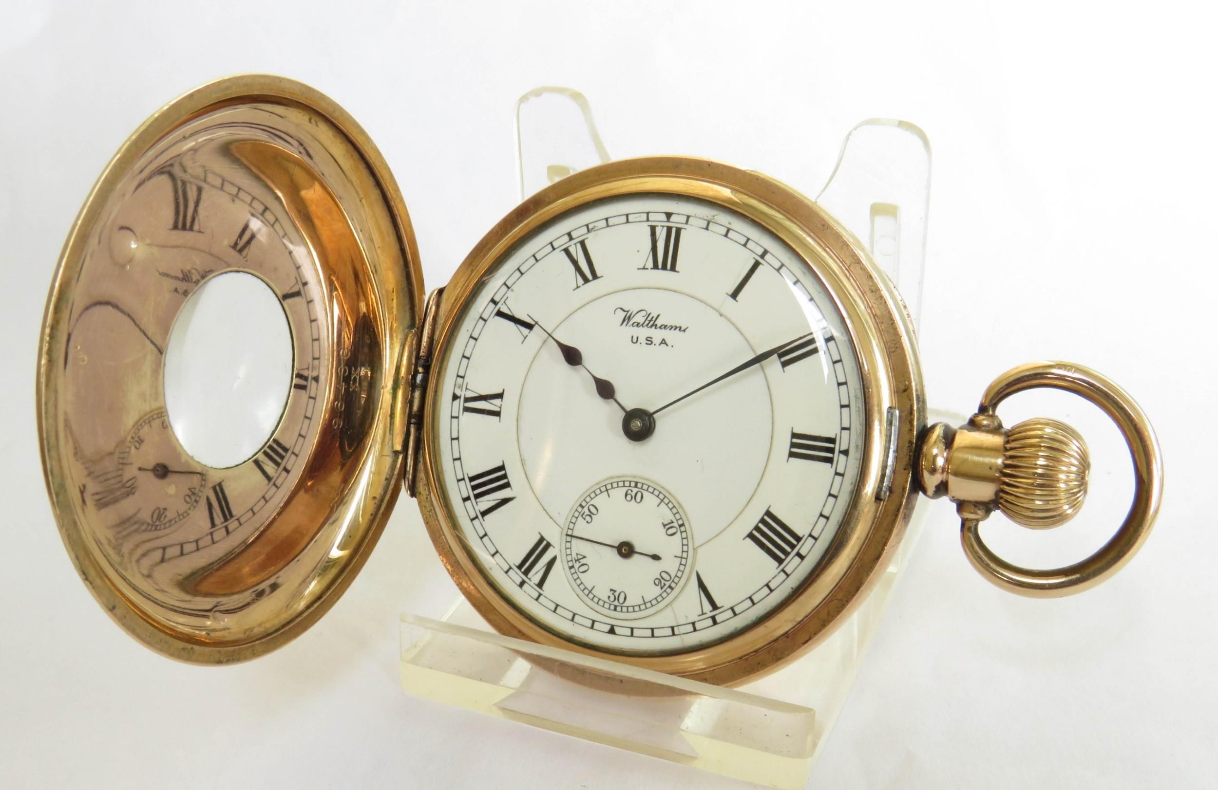 waltham vanguard rail road grade pocket watch