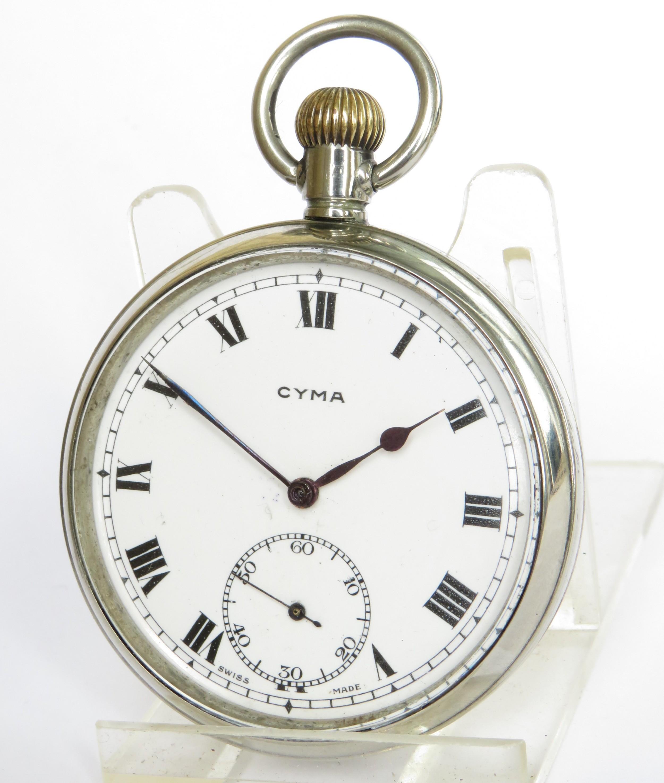 antique cyma pocket watch