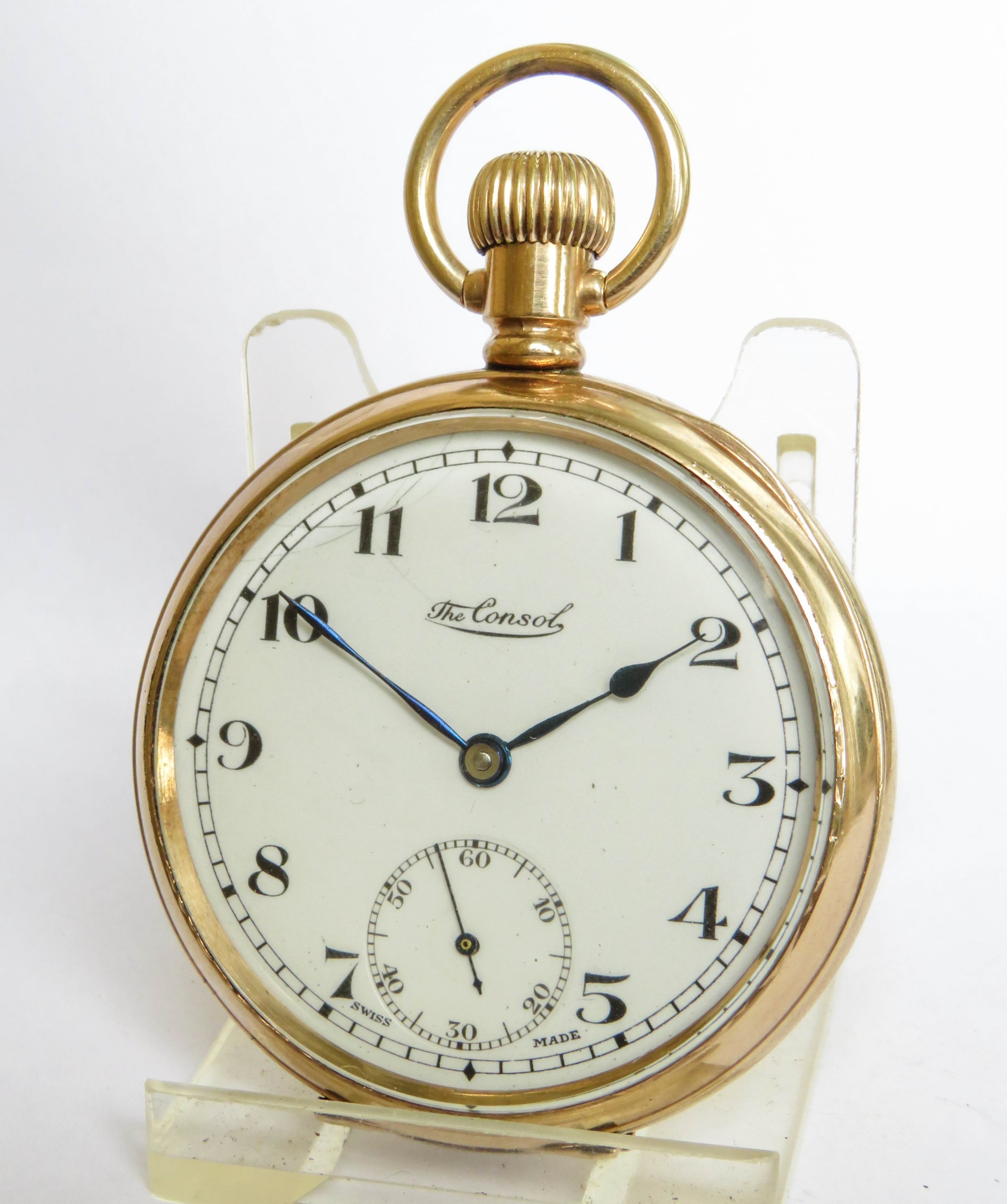 1930s the consol pocket watch