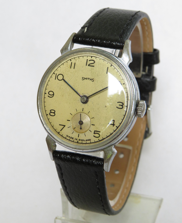 gents 1940s smiths wrist watch