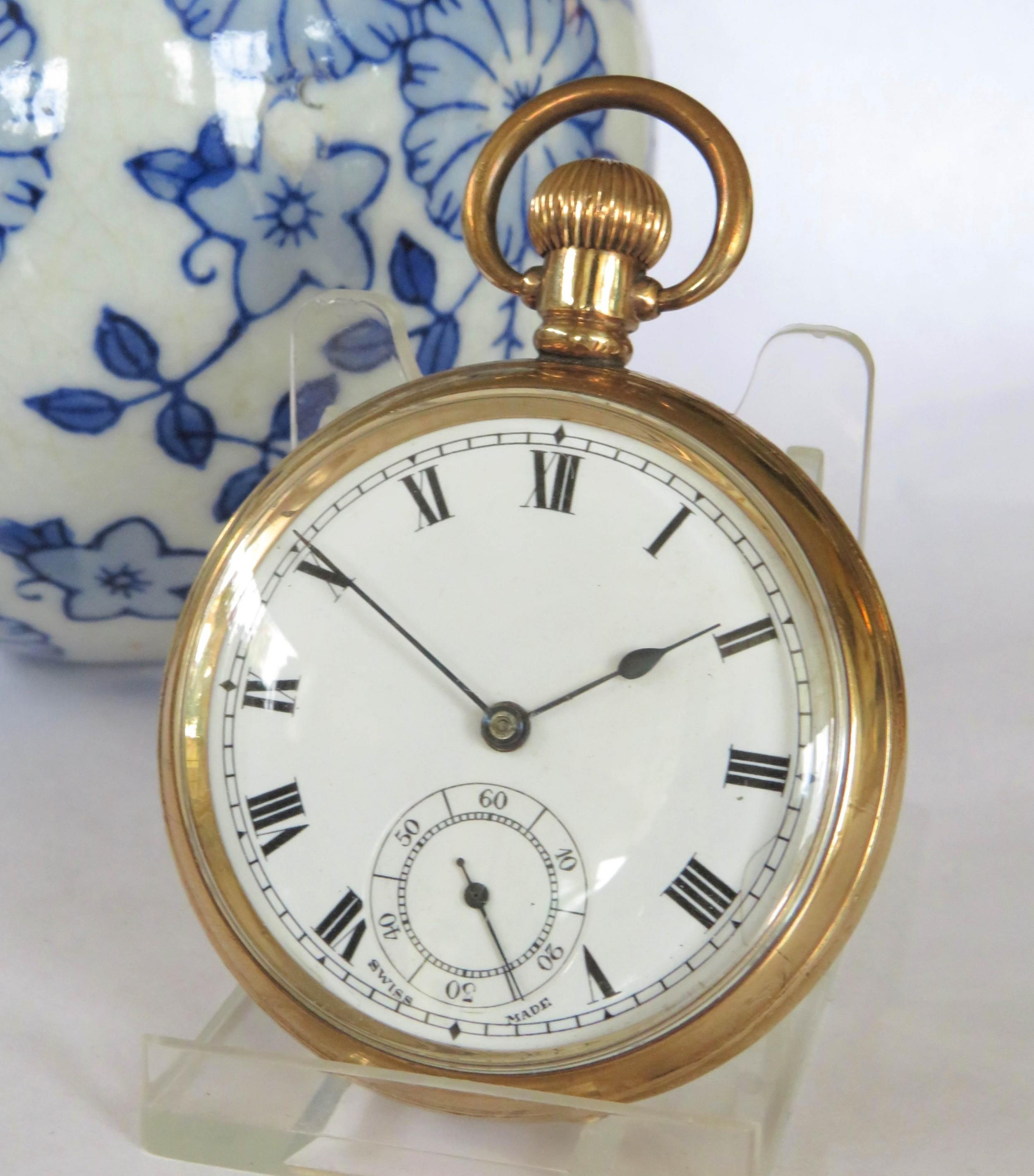 1930s swiss pocket watch