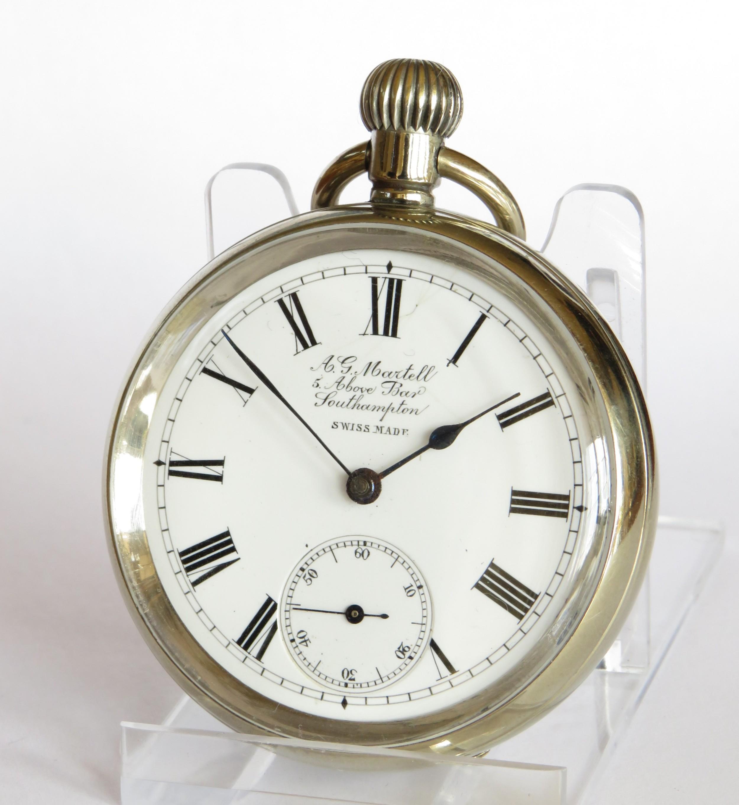 antique omega pocket watch southampton