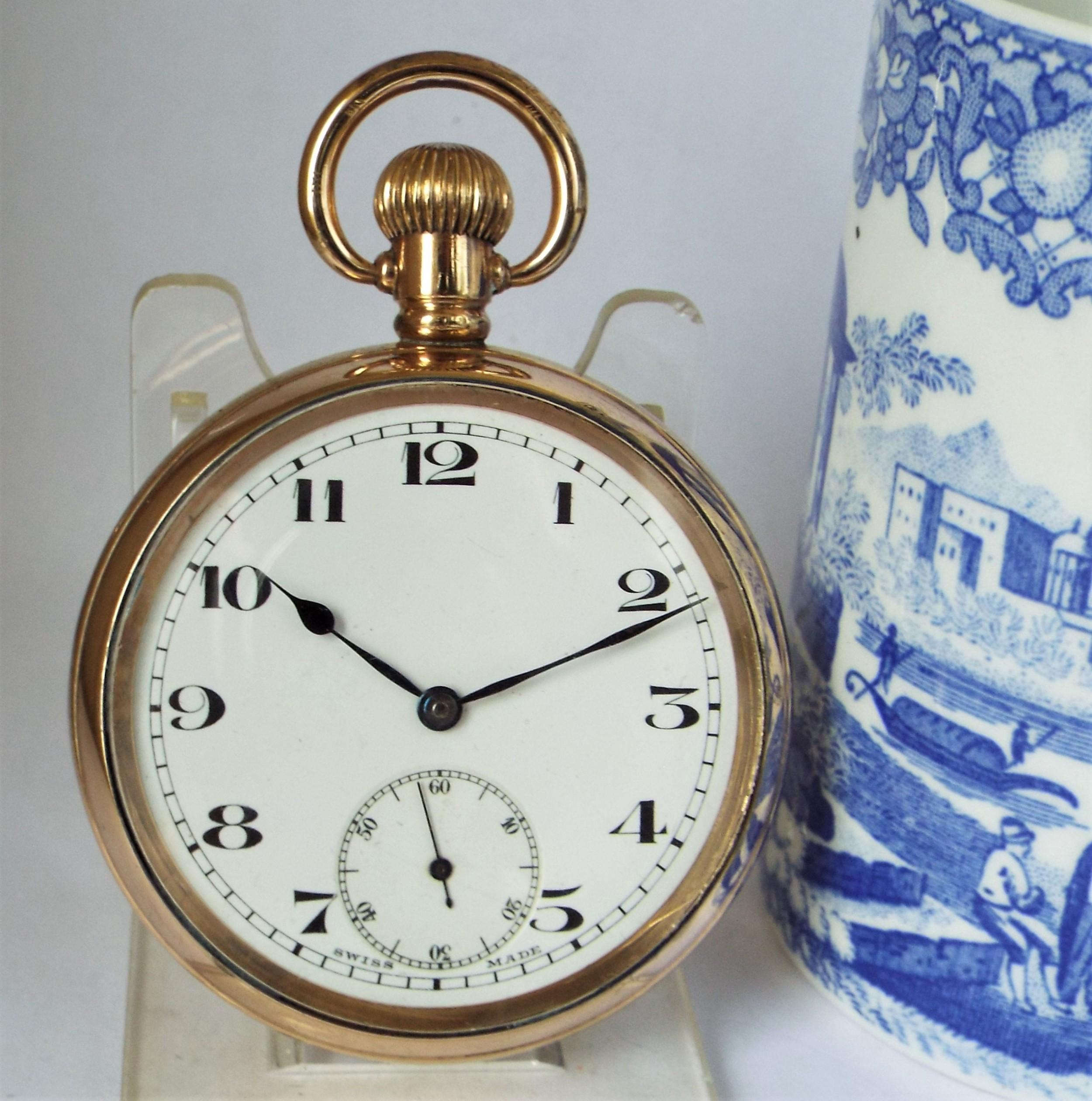 1920s swiss madix pocket watch