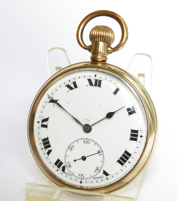 1920s swiss pocket watch