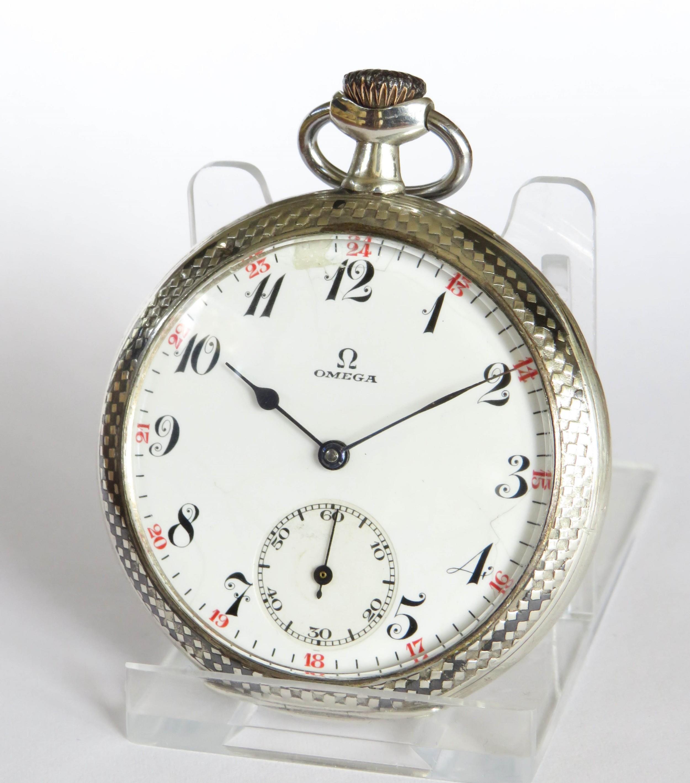 antique 1920s omega pocket watch