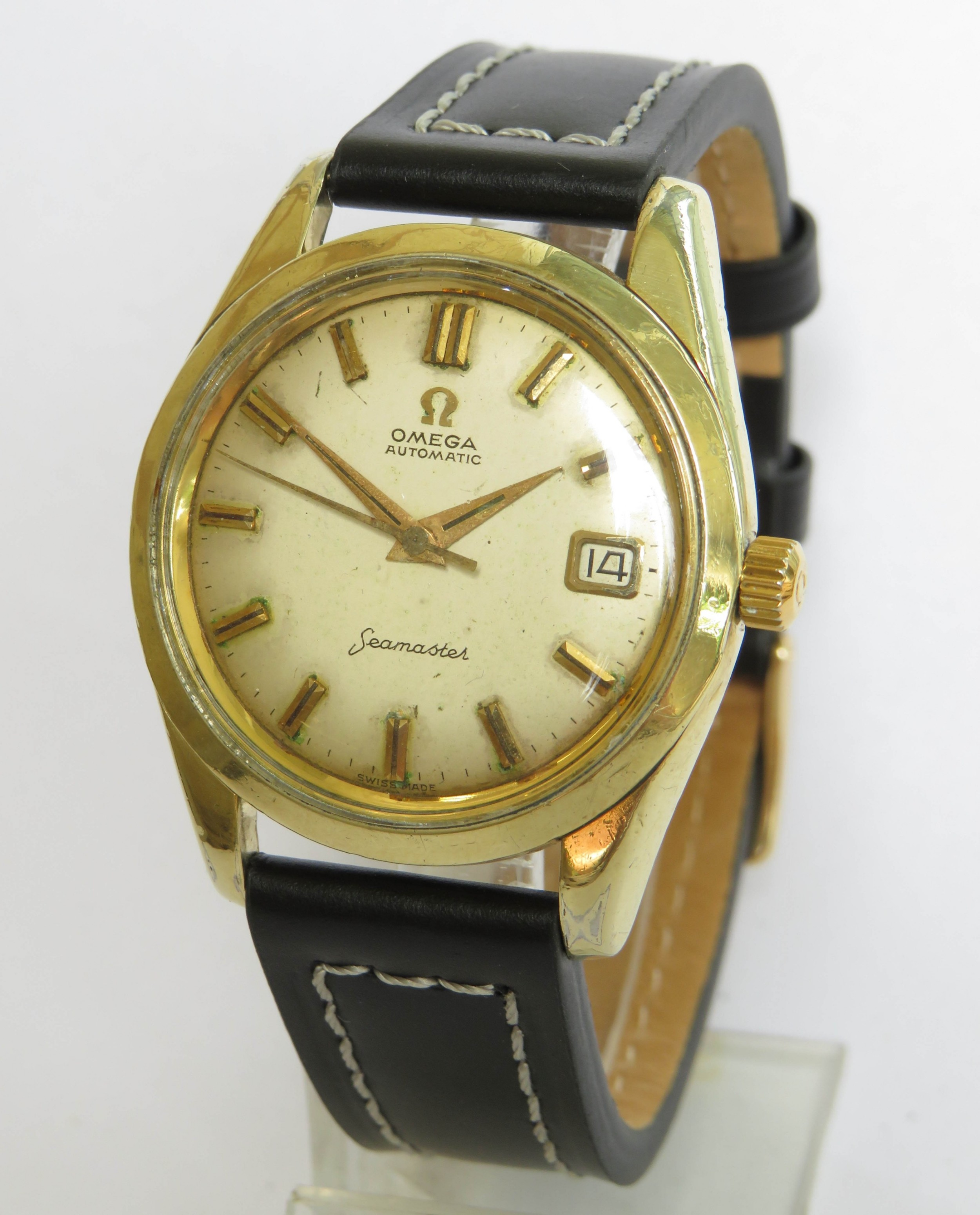 gents omega seamaster wrist watch 1961