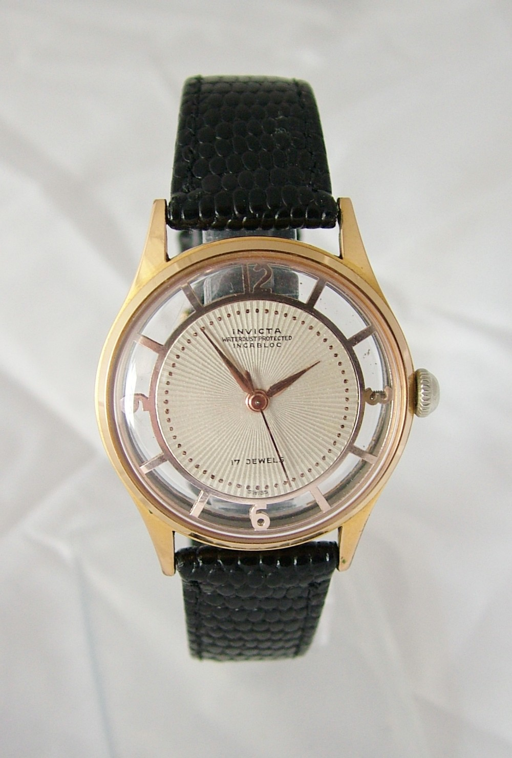 Gents Vintage 1950s Invicta Wrist Watch
