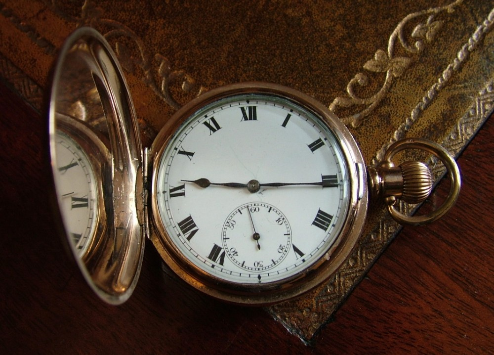 Vintage Syren Full Hunter Pocket Watch