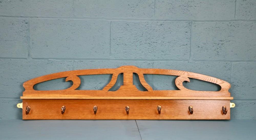 arts and crafts coat rack