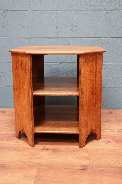 heals style oak book table
