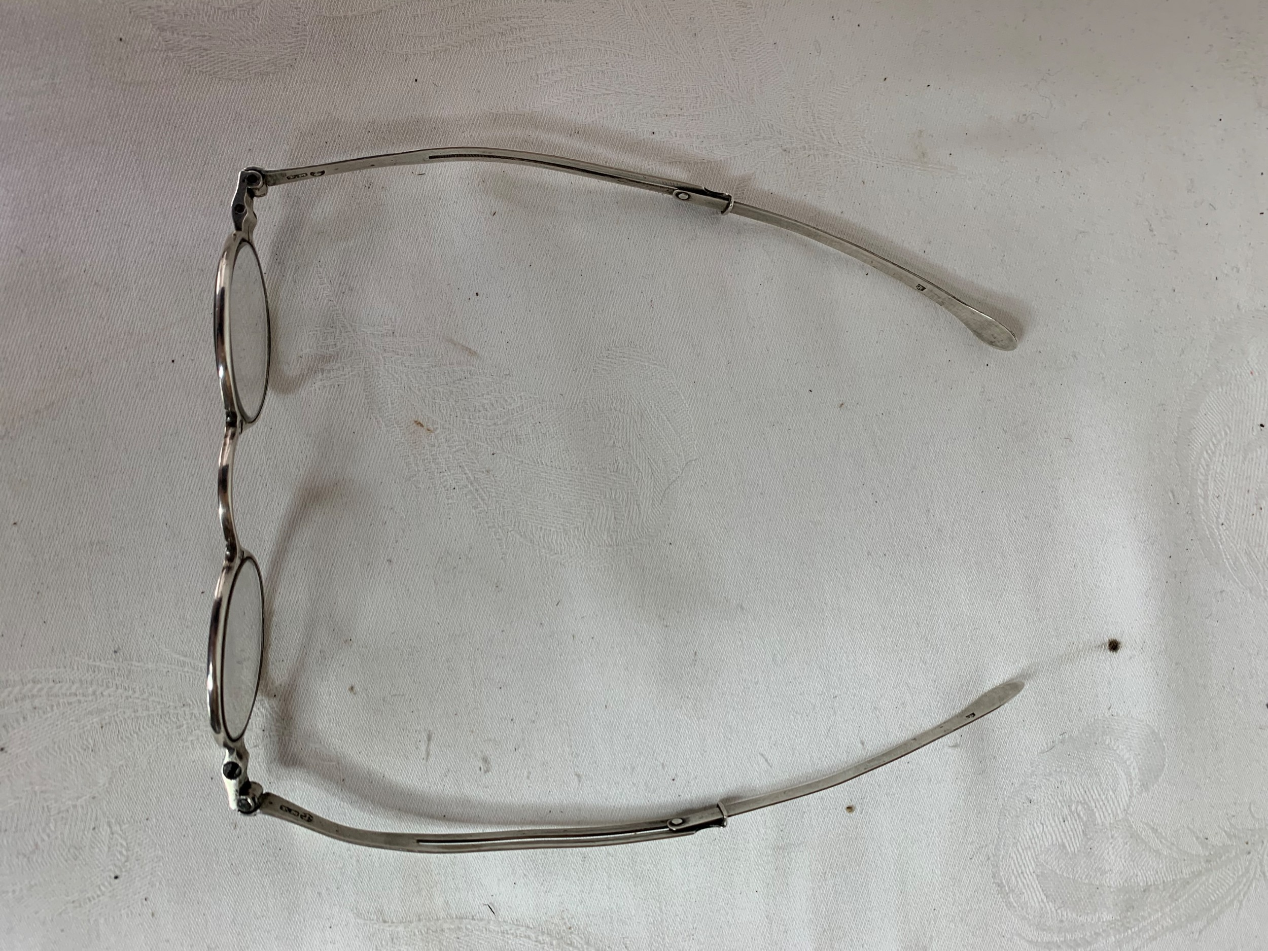 georgian silver spectacles 1824