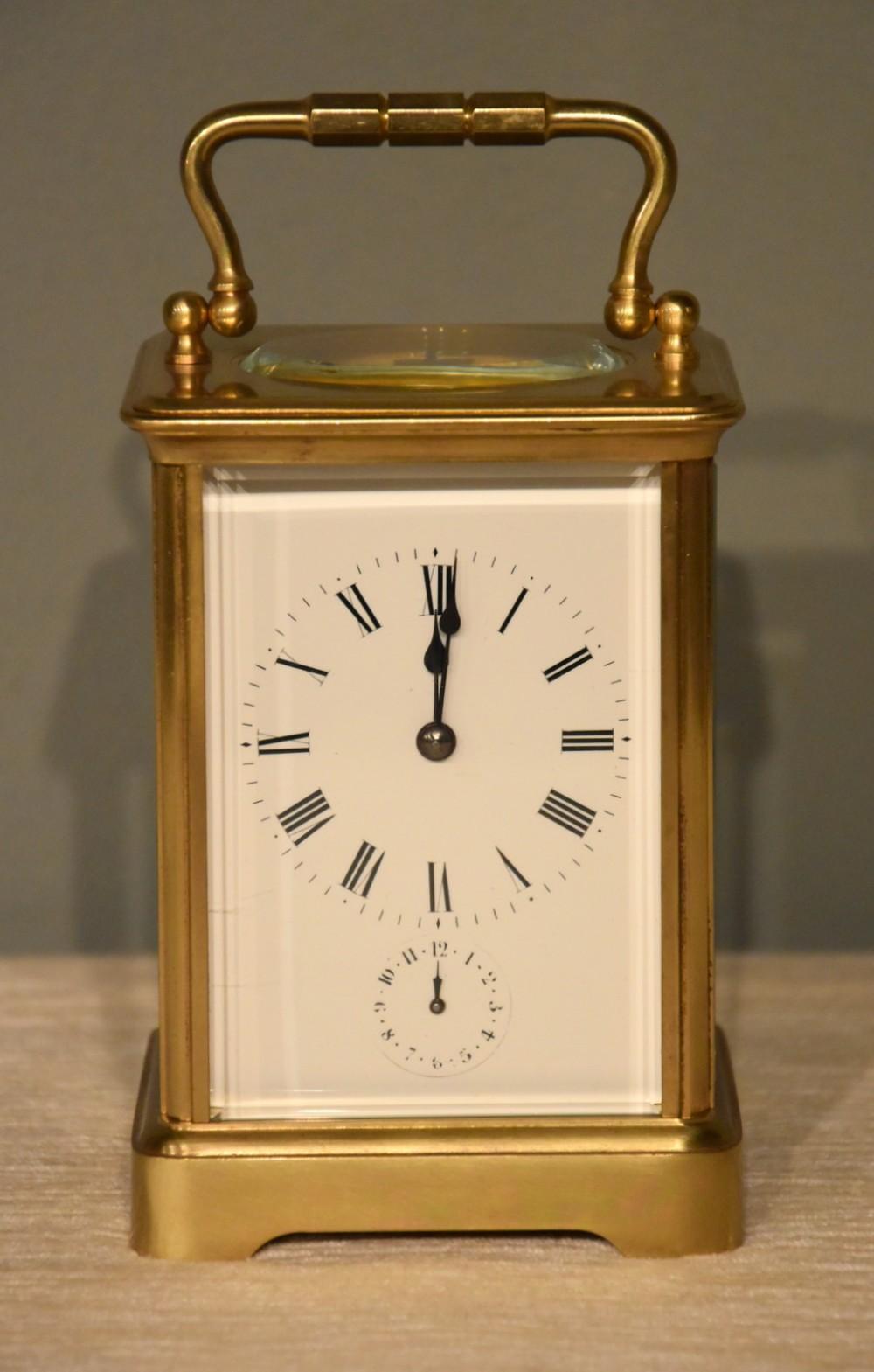 an alarm carriage timepiece by richard cie