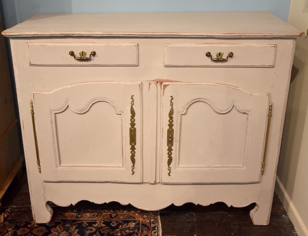 late 18th century painted french buffet