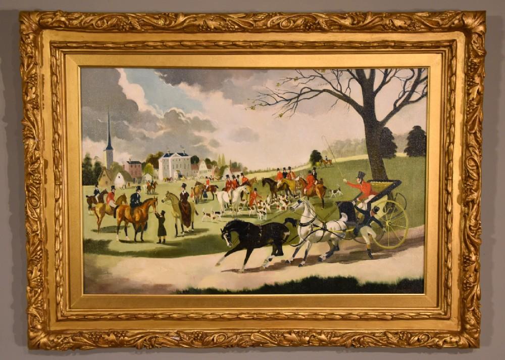 the meet oil painting by doris zinkeisen