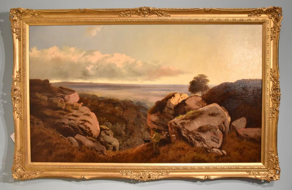 near york oil painting by edward niemann