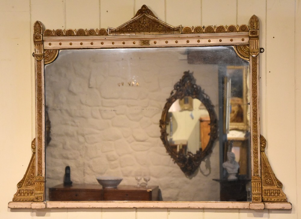19th century aesthetic style mirror