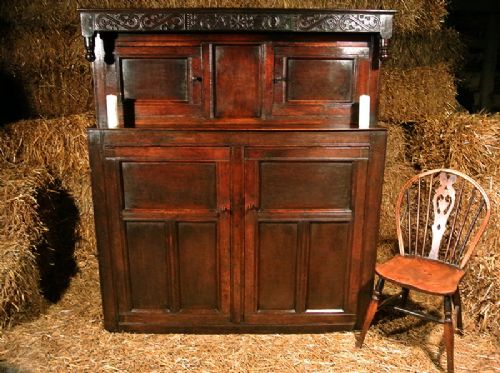 Webberley Antiques - Antique Court Cupboards - The UK's Largest Antiques Website
