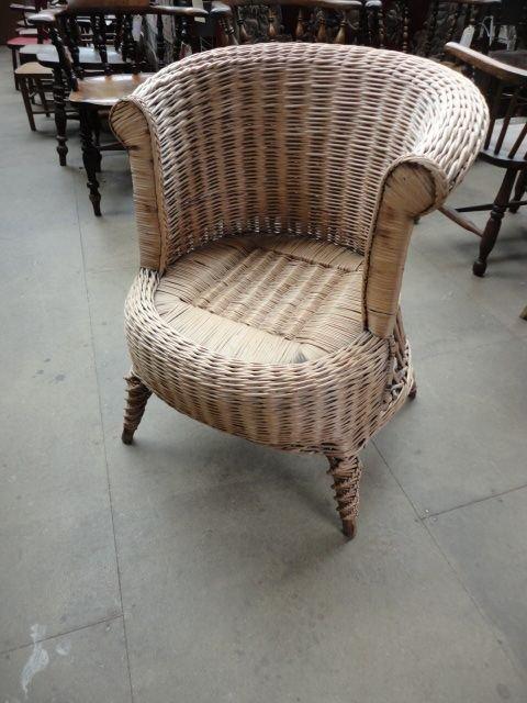 Superieur Victorian Basket Chair