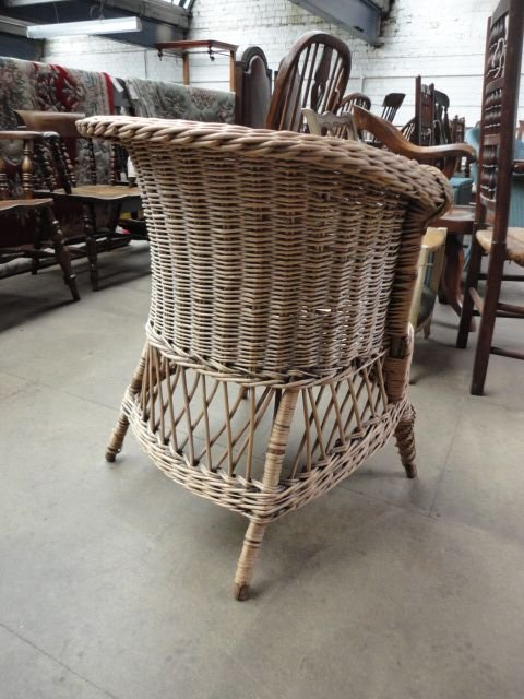 Dealerships Open On Sunday >> Victorian Basket Chair | 171782 | Sellingantiques.co.uk