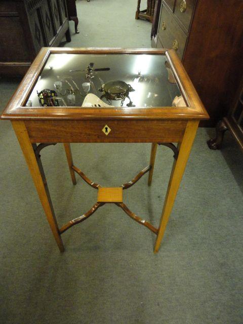 satinwood bijouterie cabinet