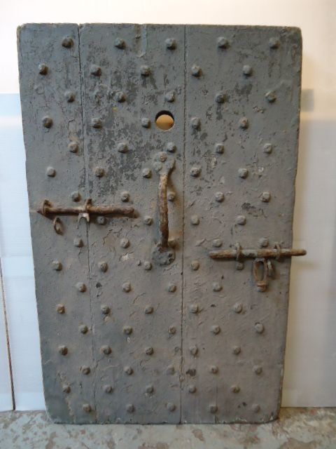 period studded door