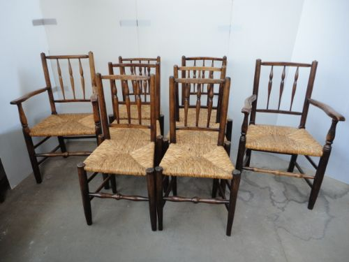 8 dales period chairs