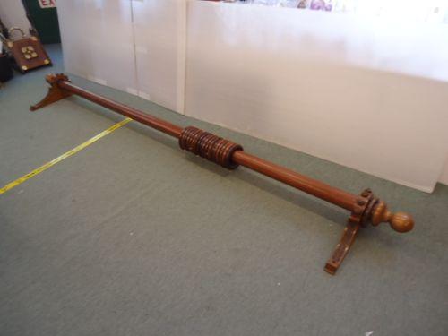 quality 9' victorian curtain pole