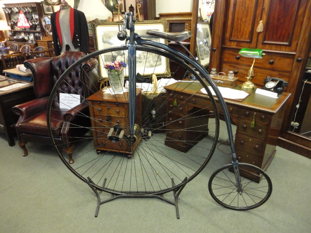 Dealerships Open On Sunday >> Vintage 19th Century Penny Farthing Bike   257587 ...