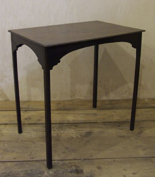 small and elegant georgian mahogany table circa 1780