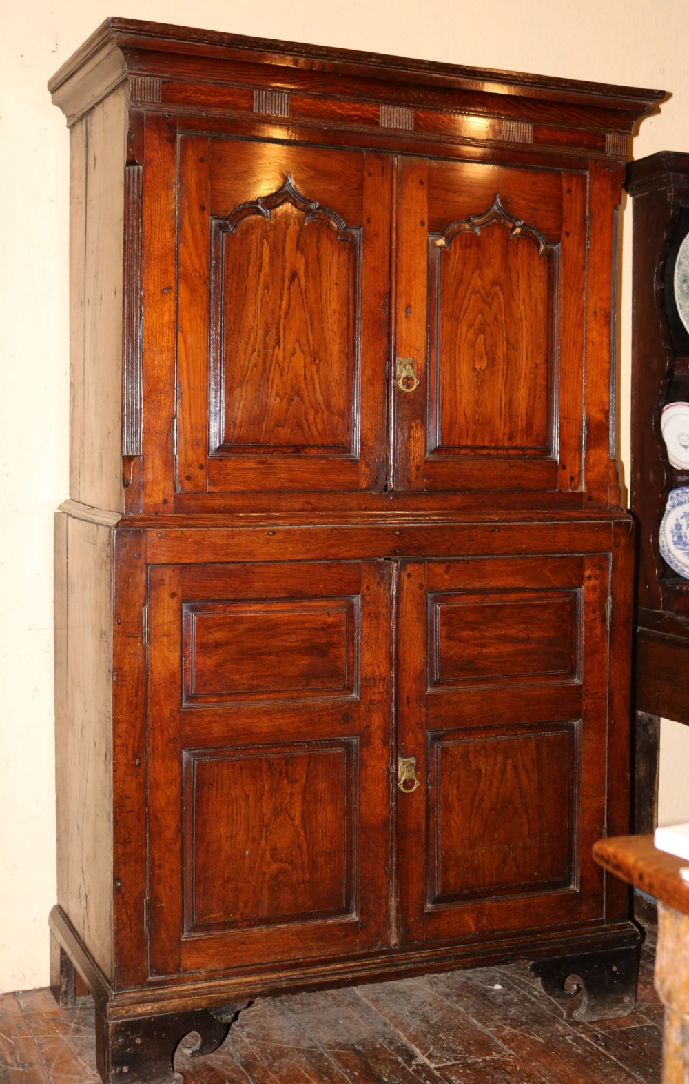 exceptional welsh oak cupboard circa 1760
