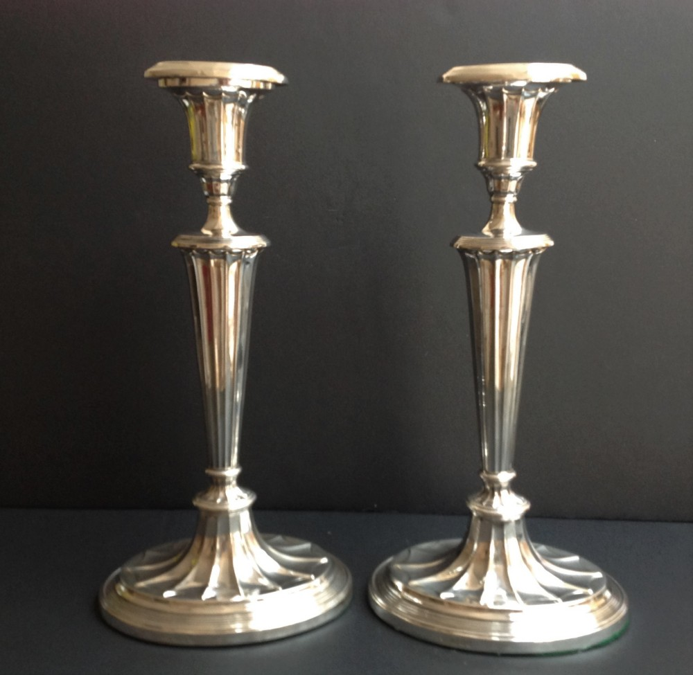 Four Whiting Sterling Silver Candlesticks | Sale Number