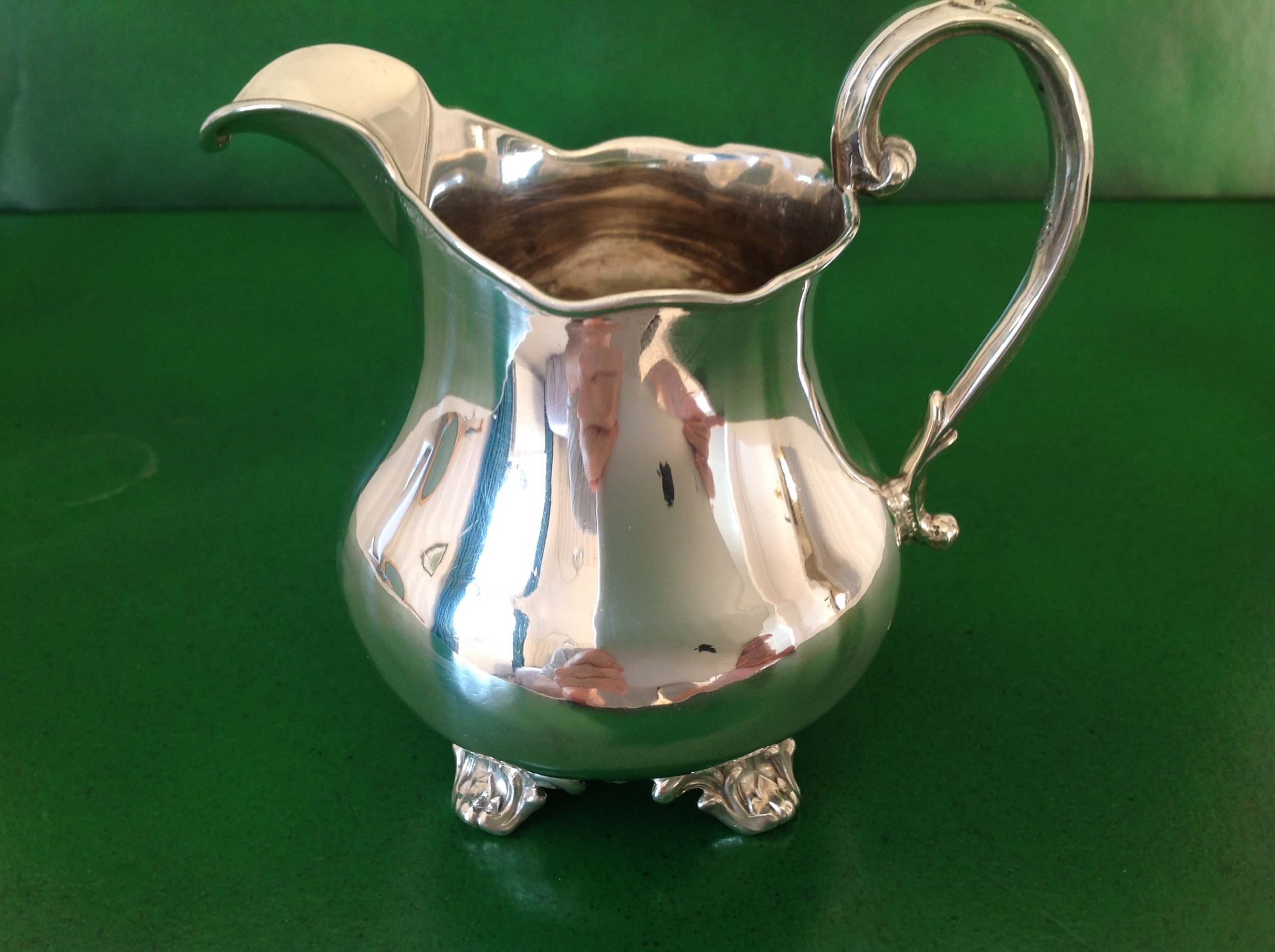 antique victorian silver jug 1851