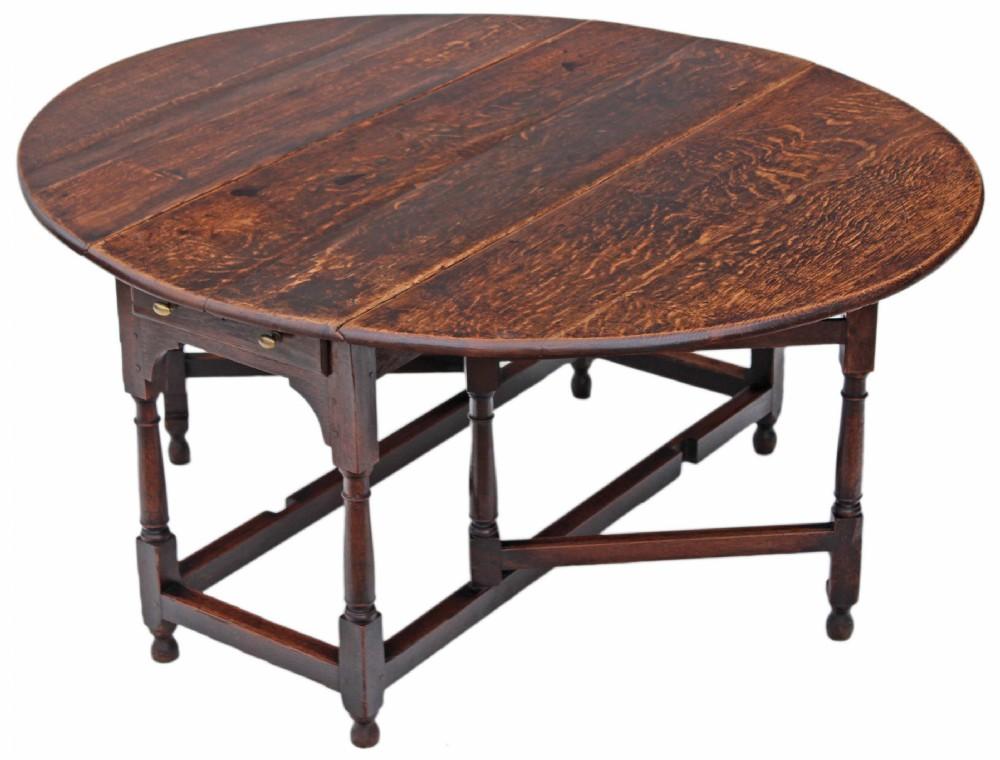 Georgian Oak Gateleg Drop Leaf Dining Table 346943  : dealerwestnorfolkhighres1434636891039 1240411736 from www.sellingantiques.co.uk size 1000 x 760 jpeg 122kB