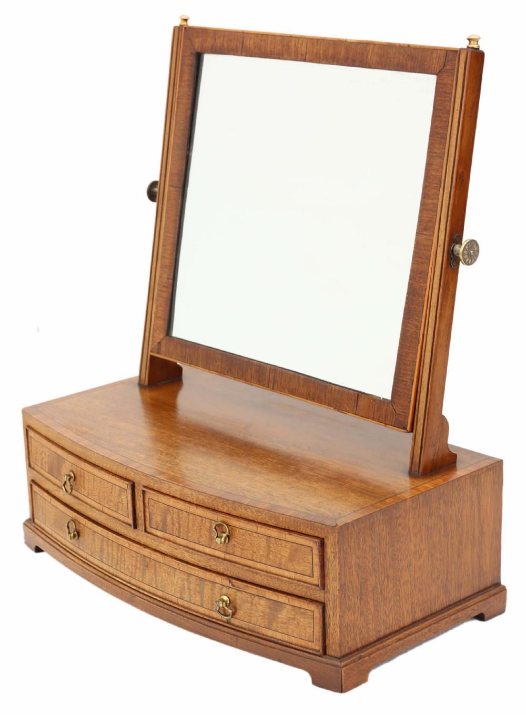 mahogany dressing table swing mirror toilet 19th century