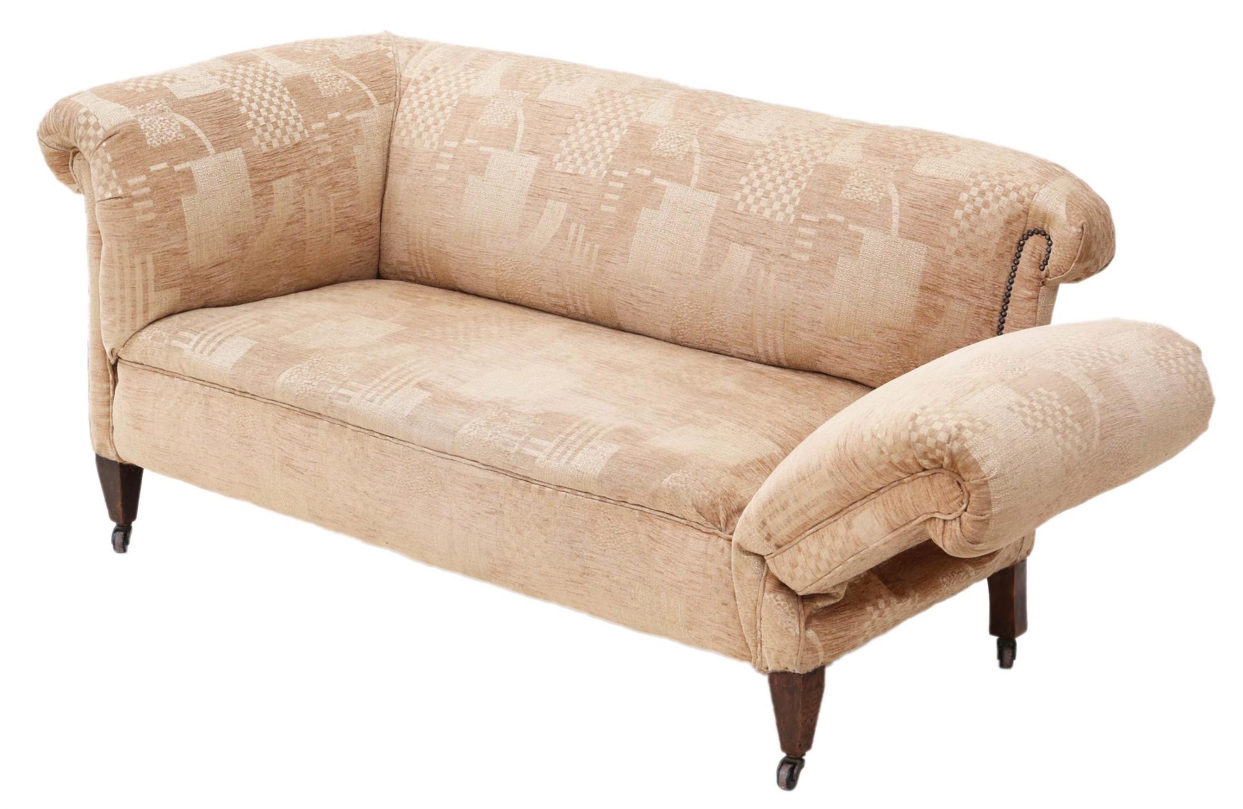 small victorian chesterfield droparm sofa